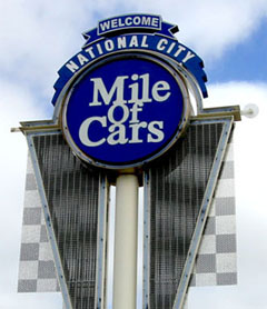 Mile Of Cars >> Our Dealers National City Mile Of Cars