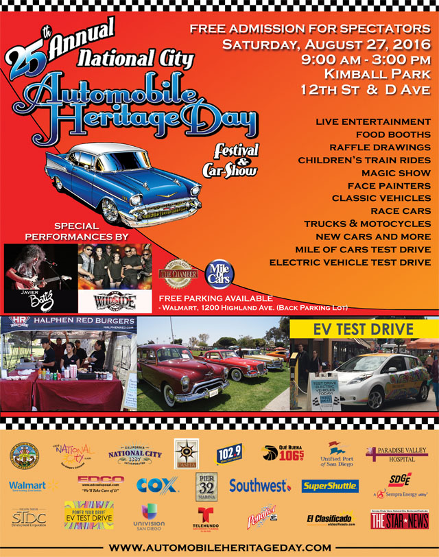 25th Annual National City Auto Heritage Day